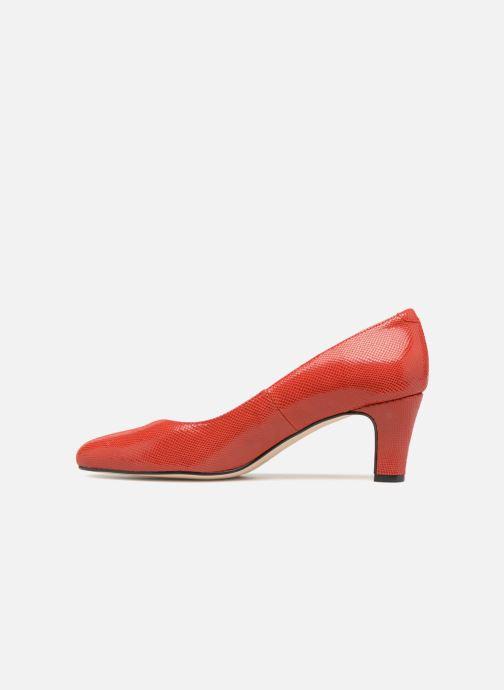 Zapatos de tacón Georgia Rose Suzet Rojo vista de frente