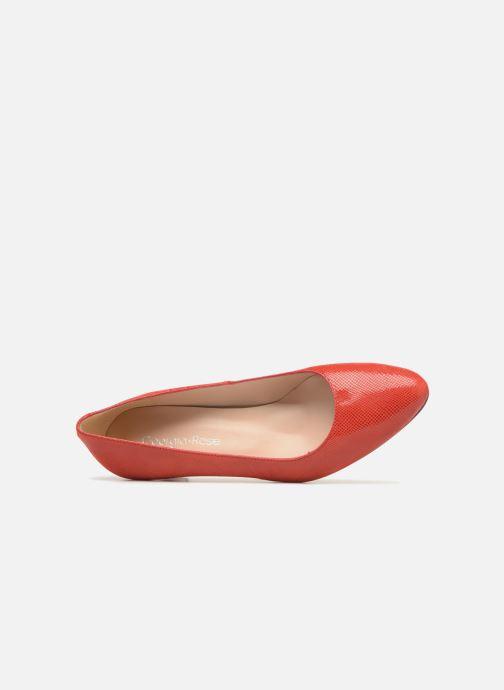 Zapatos de tacón Georgia Rose Suzet Rojo vista lateral izquierda