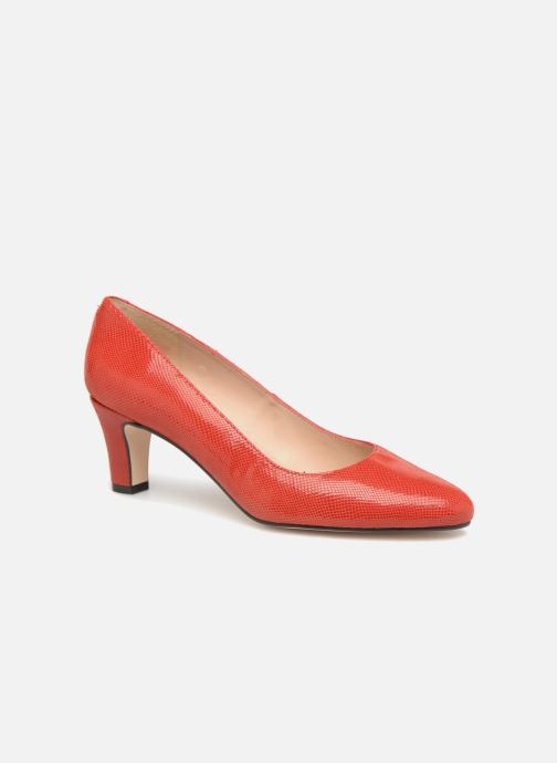 High heels Georgia Rose Suzet Red detailed view/ Pair view