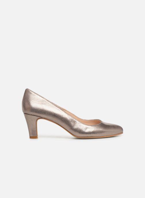 Zapatos de tacón Georgia Rose Suzet Rosa vistra trasera