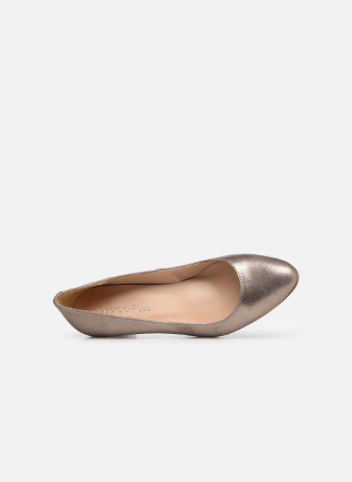 Zapatos de tacón Georgia Rose Suzet Rosa vista lateral izquierda