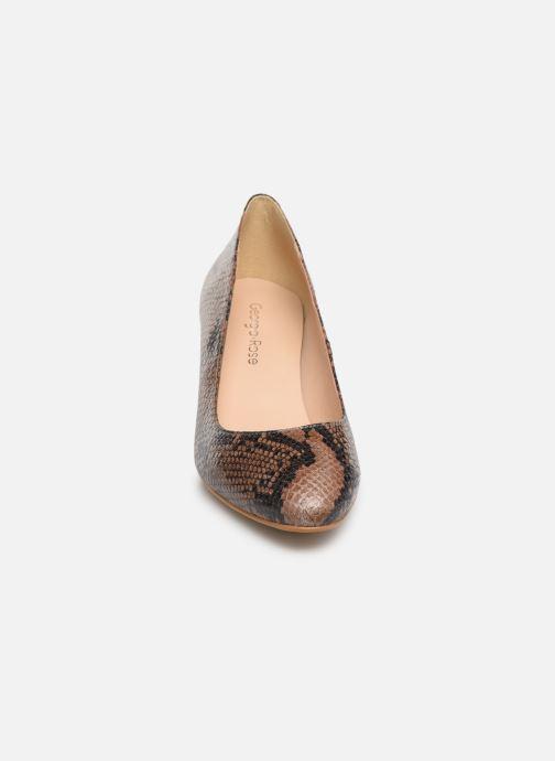 Escarpins Georgia Rose Suzet Marron vue portées chaussures
