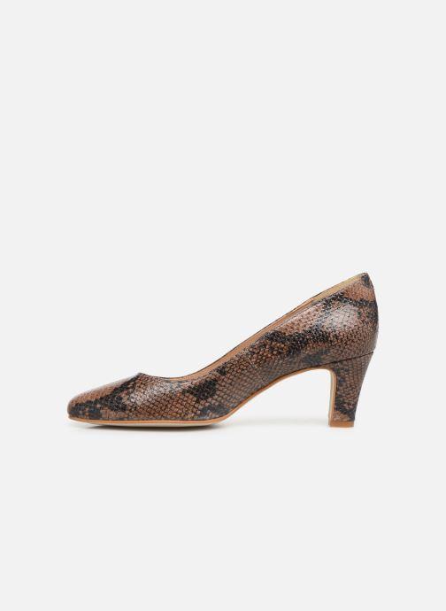 Zapatos de tacón Georgia Rose Suzet Marrón vista de frente