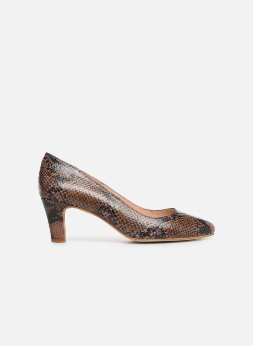 High heels Georgia Rose Suzet Brown back view