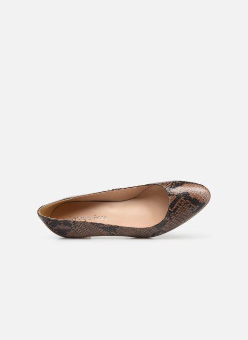 Zapatos de tacón Georgia Rose Suzet Marrón vista lateral izquierda