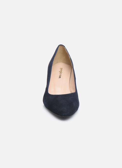 Zapatos de tacón Georgia Rose Suzet Azul vista del modelo