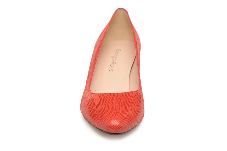 Escarpins Georgia Rose Suzet Rouge vue portées chaussures