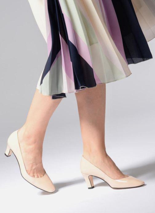 Zapatos de tacón Georgia Rose Satrot Beige vista de abajo