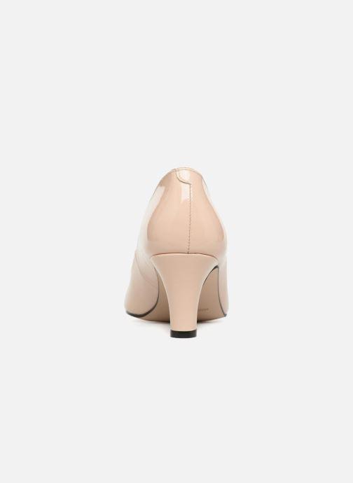 Zapatos de tacón Georgia Rose Satrot Beige vista lateral derecha