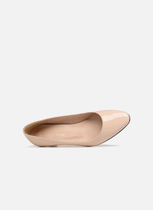 Zapatos de tacón Georgia Rose Satrot Beige vista lateral izquierda