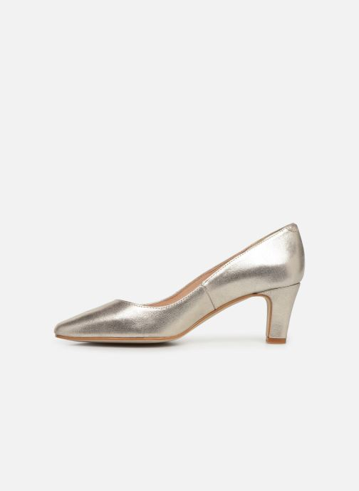 Zapatos de tacón Georgia Rose Satrot Oro y bronce vista de frente