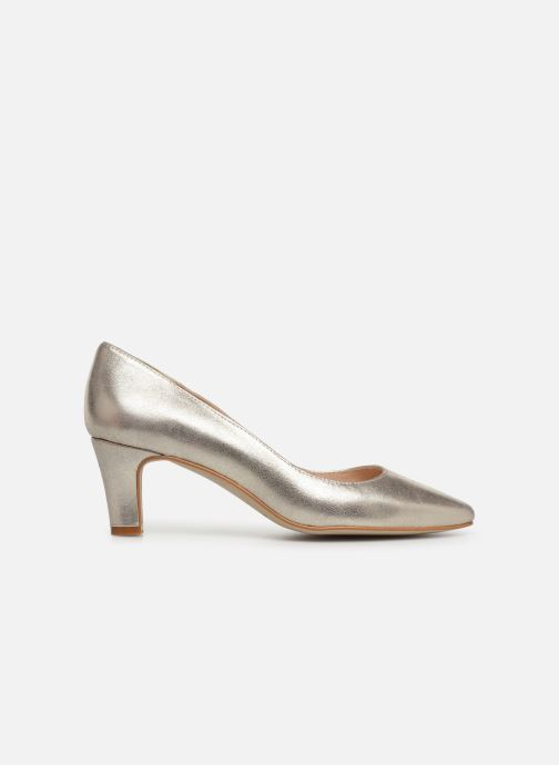 Zapatos de tacón Georgia Rose Satrot Oro y bronce vistra trasera