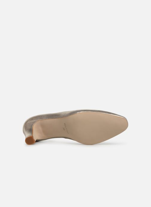 Zapatos de tacón Georgia Rose Satrot Oro y bronce vista de arriba