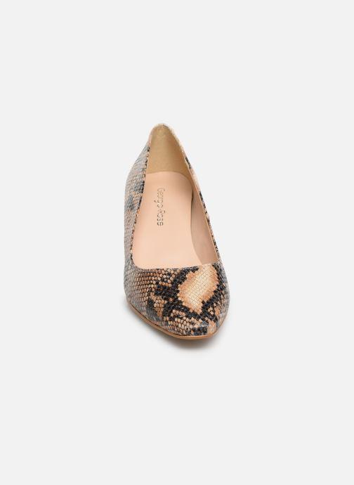 High heels Georgia Rose Satrot Beige model view