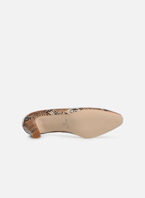 Zapatos de tacón Georgia Rose Satrot Beige vista de arriba
