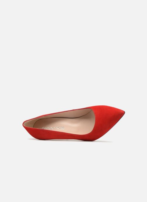 Pumps Georgia Rose Sunseta rot ansicht von links