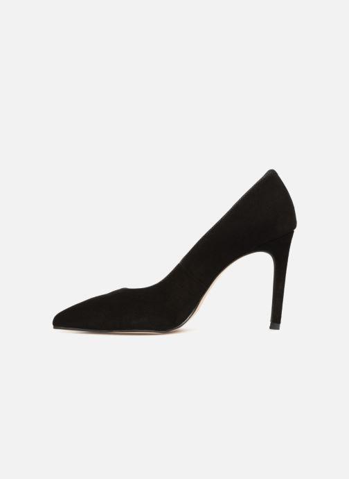 Zapatos de tacón Georgia Rose Sunseta Negro vista de frente