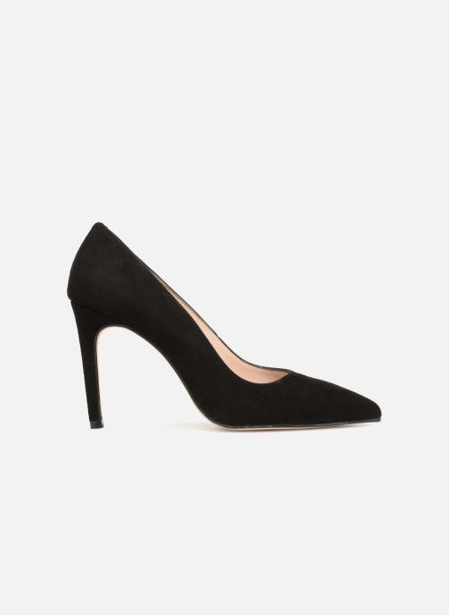 Zapatos de tacón Georgia Rose Sunseta Negro vistra trasera