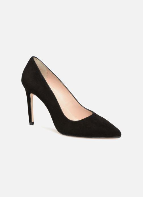 Zapatos de tacón Georgia Rose Sunseta Negro vista de detalle / par
