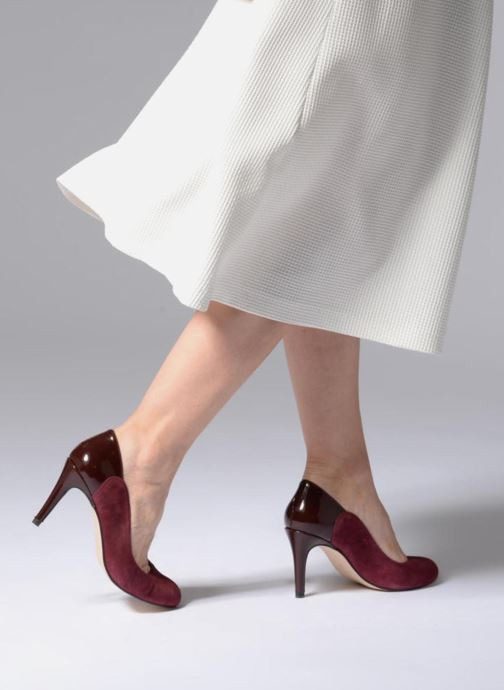 Zapatos de tacón Georgia Rose Sibelle Vino vista de abajo