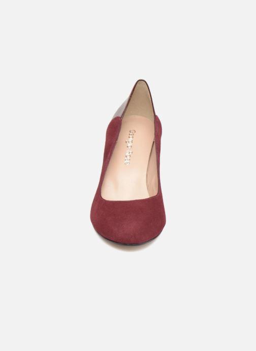 Escarpins Georgia Rose Sibelle Bordeaux vue portées chaussures