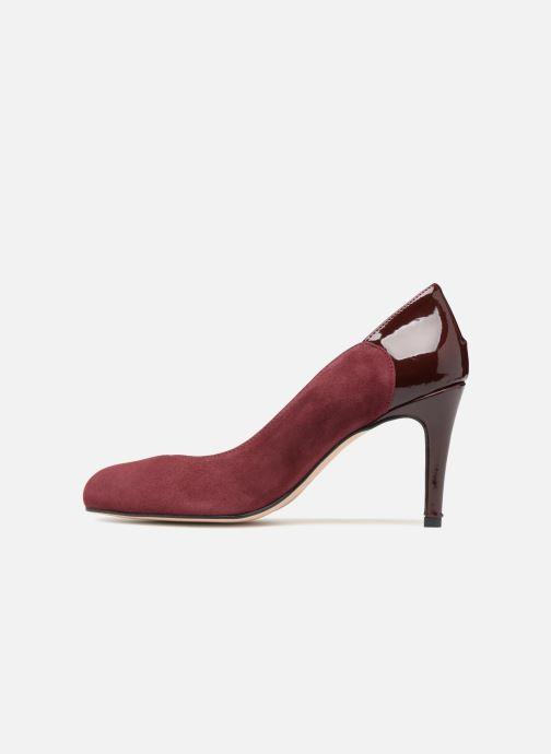 Zapatos de tacón Georgia Rose Sibelle Vino vista de frente