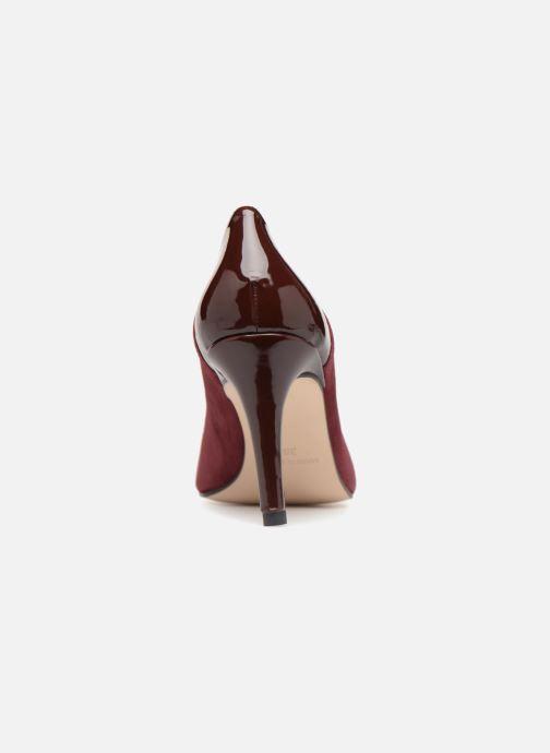 Zapatos de tacón Georgia Rose Sibelle Vino vista lateral derecha