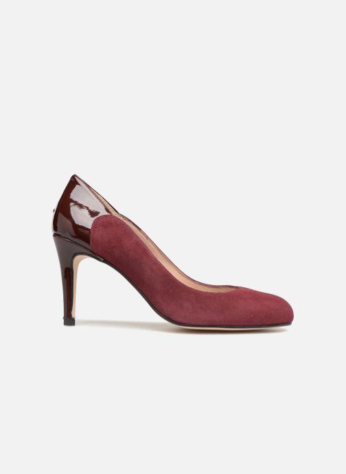 Zapatos de tacón Georgia Rose Sibelle Vino vistra trasera