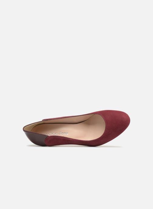 Zapatos de tacón Georgia Rose Sibelle Vino vista lateral izquierda