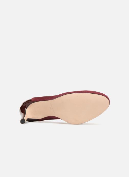 Zapatos de tacón Georgia Rose Sibelle Vino vista de arriba