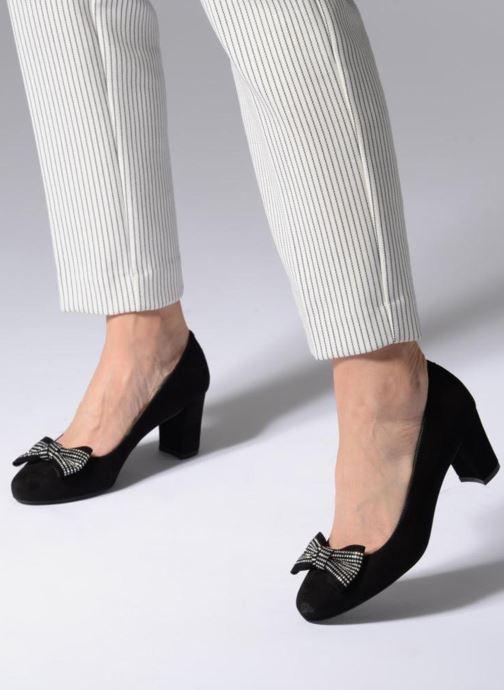 Zapatos de tacón Georgia Rose Soprana Negro vista de abajo