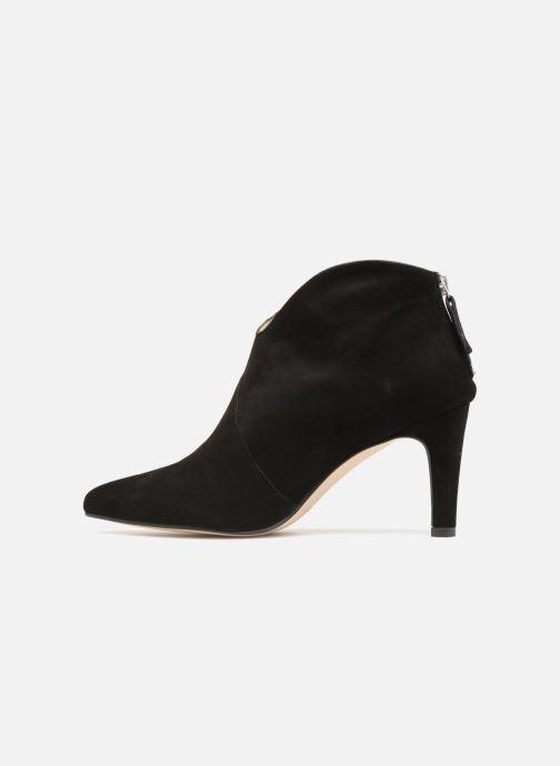 Bottines et boots Georgia Rose Shayen Noir vue face