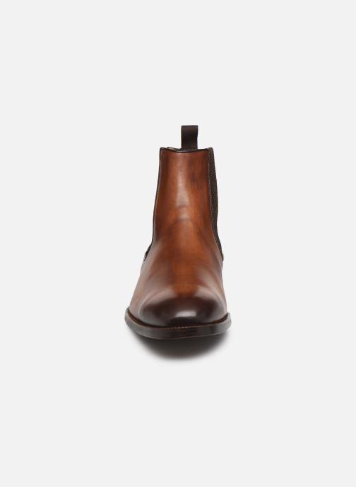 Bottines et boots Marvin&Co Luxe Plaidrow - Cousu Blake Marron vue portées chaussures