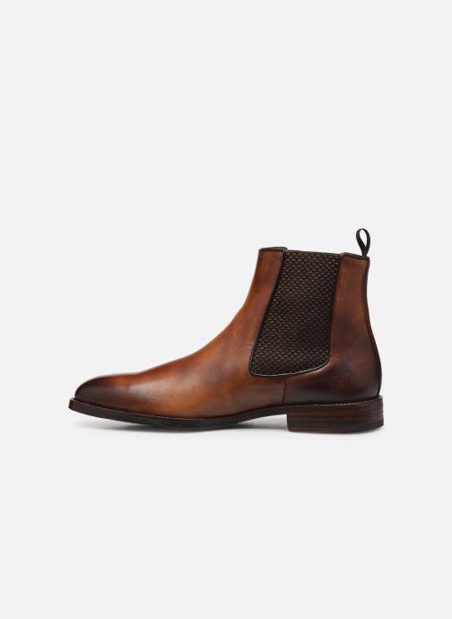 Boots en enkellaarsjes Marvin&Co Luxe Plaidrow - Cousu Blake Bruin voorkant