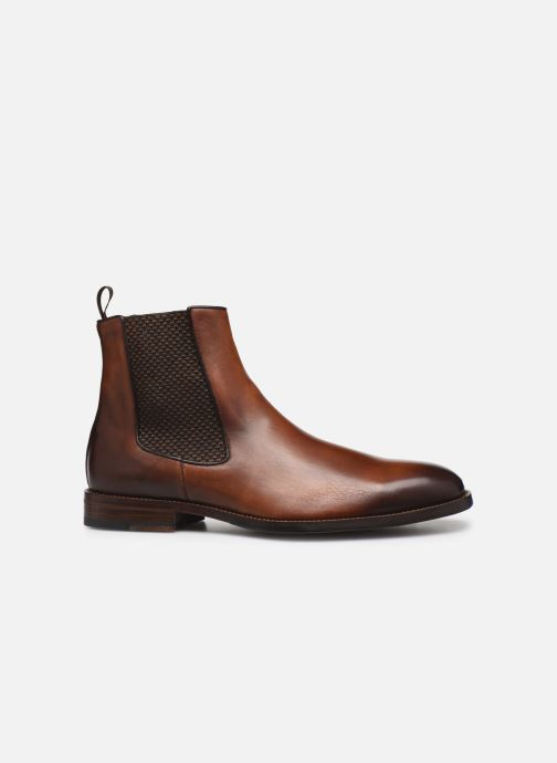 Ankle boots Marvin&Co Luxe Plaidrow - Cousu Blake Brown back view