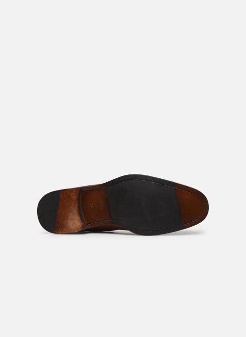 Bottines et boots Marvin&Co Luxe Plaidrow - Cousu Blake Marron vue haut