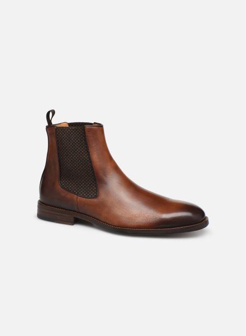 Bottines et boots Marvin&Co Luxe Plaidrow - Cousu Blake Marron vue détail/paire