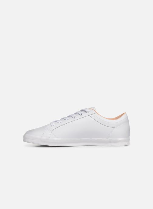 Baskets Fred Perry Baseline Leather Blanc vue face