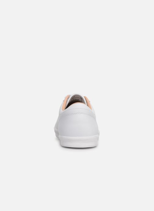 Baskets Fred Perry Baseline Leather Blanc vue droite