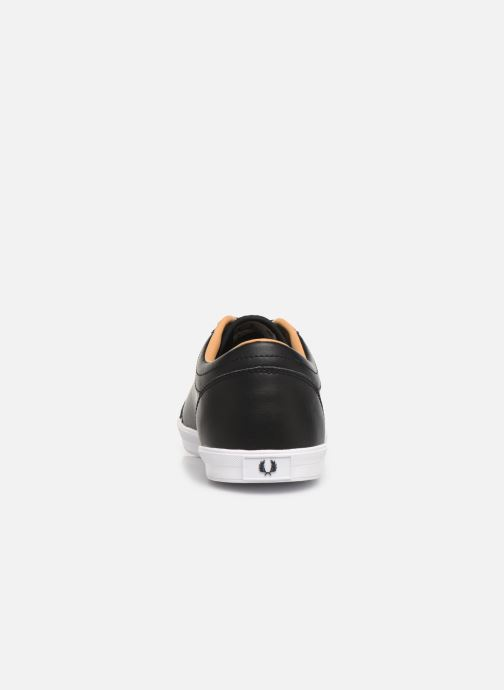 Baskets Fred Perry Baseline Leather Noir vue droite