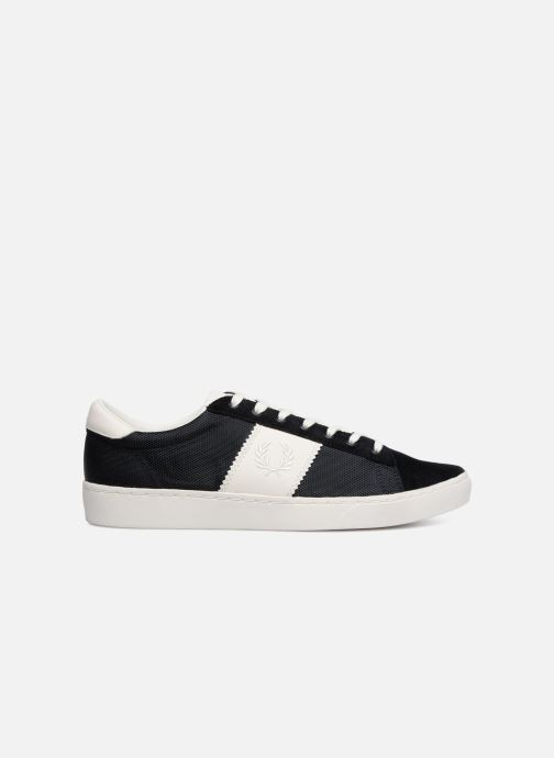 Baskets Fred Perry Spencer Polyester Leather Bleu vue derrière