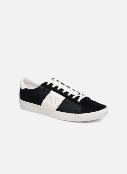 Baskets Fred Perry Spencer Polyester Leather Bleu vue détail/paire