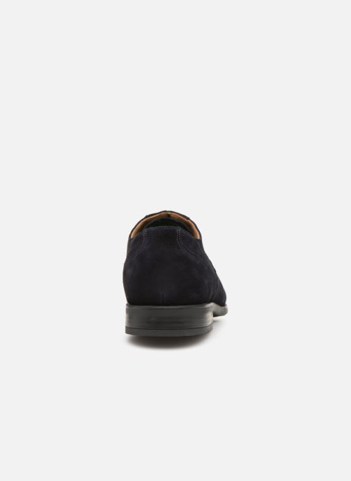 Chaussures à lacets PS Paul Smith Tompkins Bleu vue droite