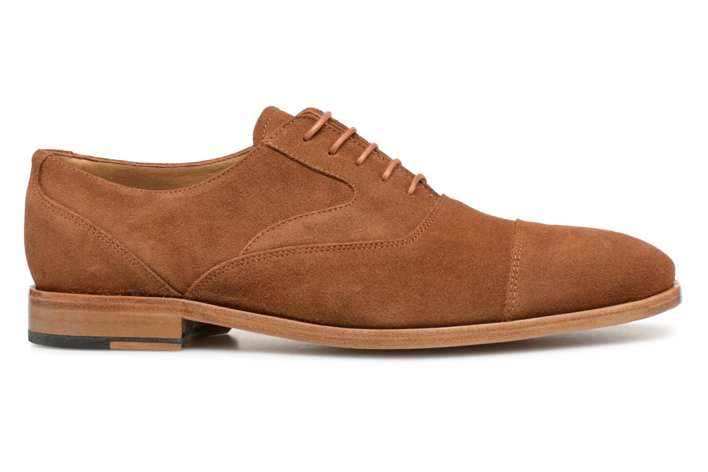 Chaussures à lacets Paul Smith Tompkins Marron vue derrière