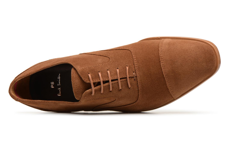 Chaussures à lacets Paul Smith Tompkins Marron vue gauche