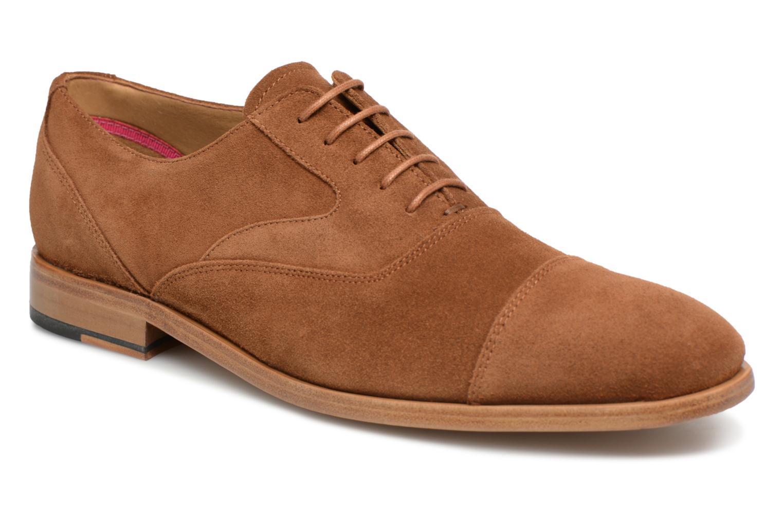 Chaussures à lacets Paul Smith Tompkins Marron vue détail/paire