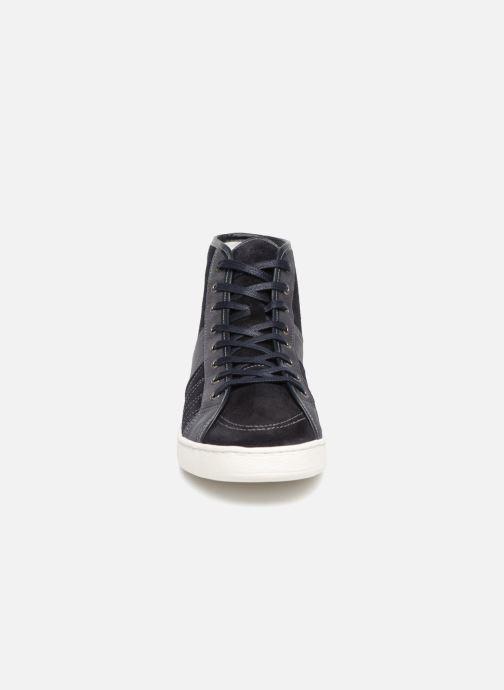 Baskets PS Paul Smith Nicos Bleu vue portées chaussures