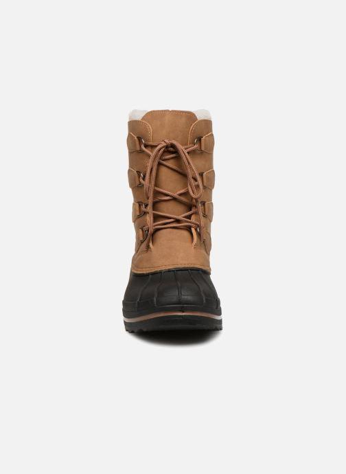 Chaussures de sport Kimberfeel BEKER Marron vue portées chaussures