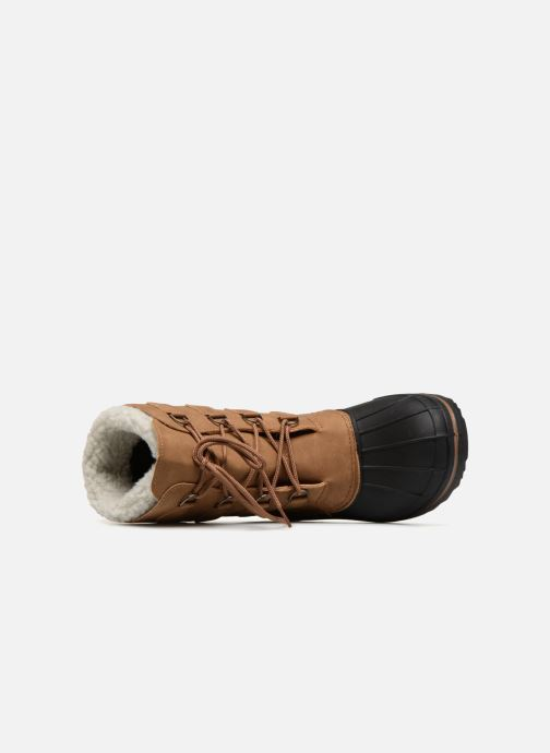 Zapatillas de deporte Kimberfeel BEKER Marrón vista lateral izquierda