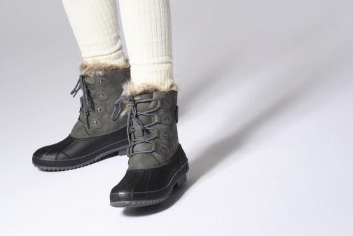 Chaussures de sport Kimberfeel NITA Gris vue bas / vue portée sac